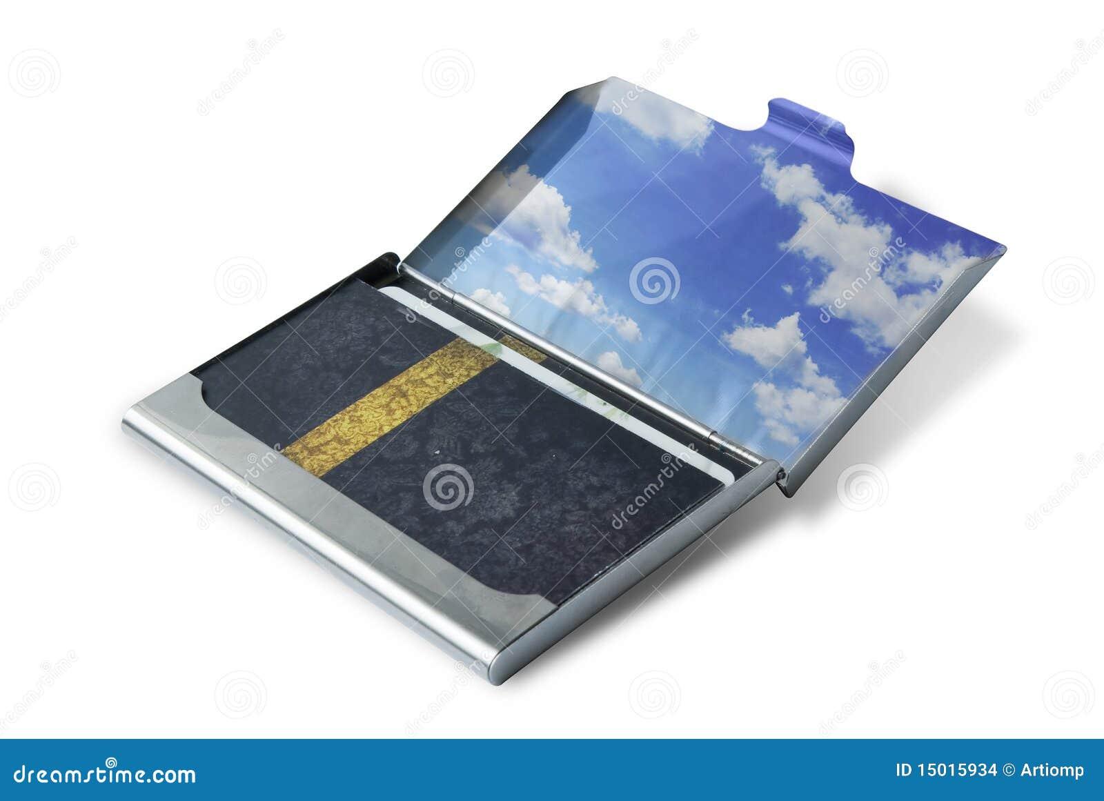 Caixa do cartão