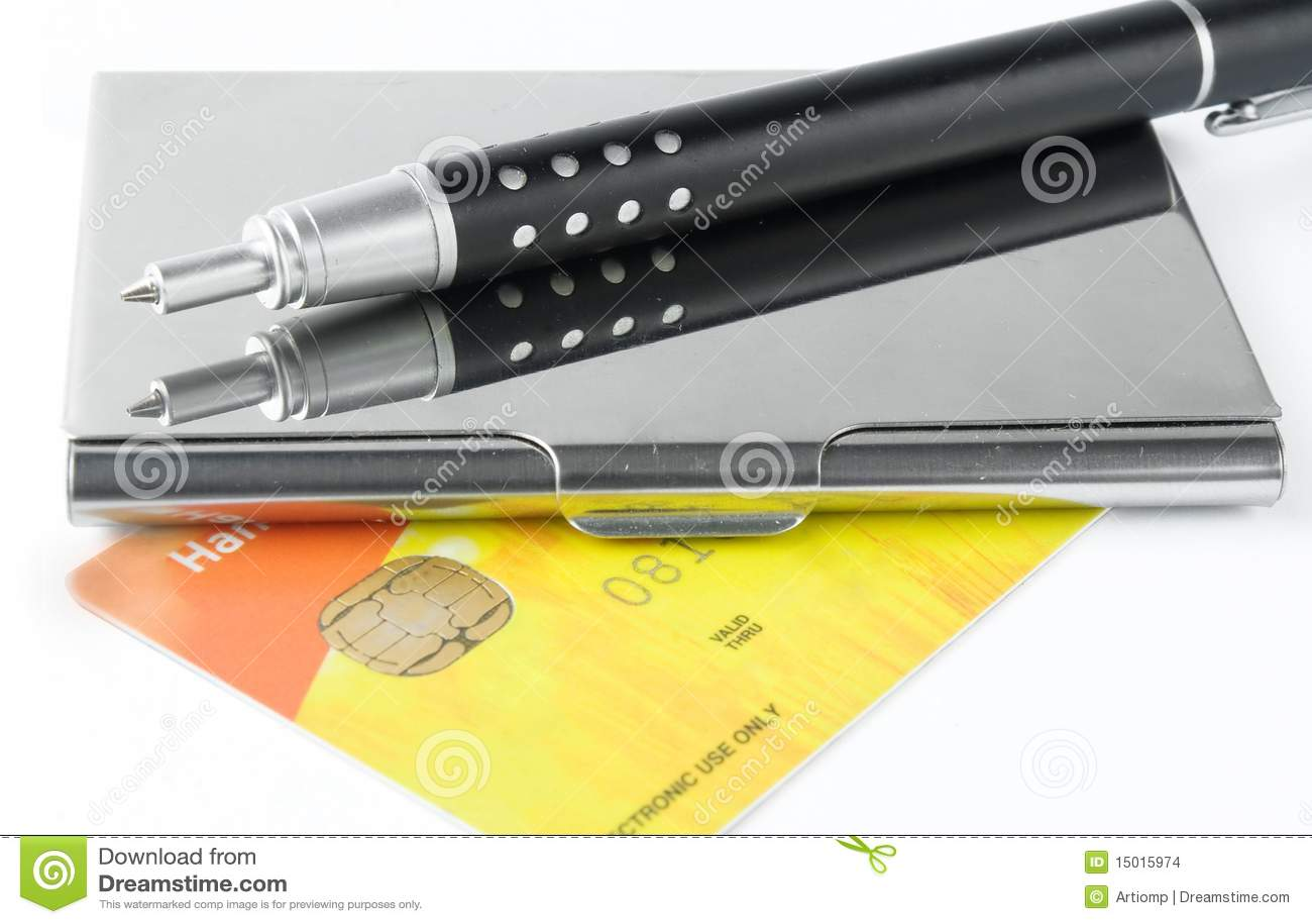 Caixa do suporte do cartão