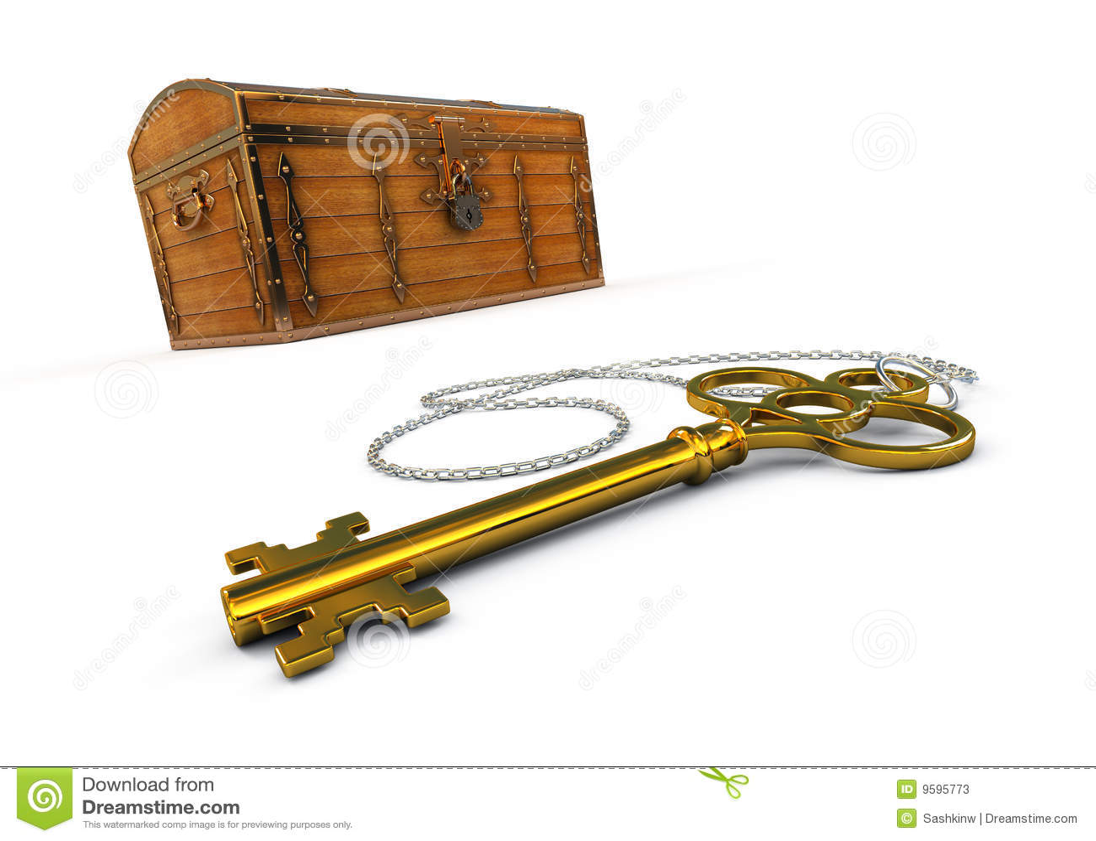 Caixa E Chave De Tesouro Fotos de Stock Imagem: 9595773 #C0AF0B 1300x1015
