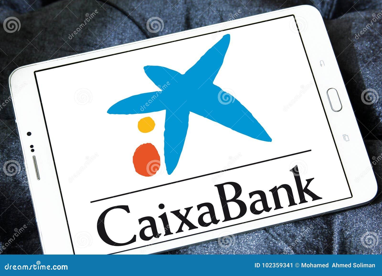 CaixaBank logo editorial photo  Image of group, capital