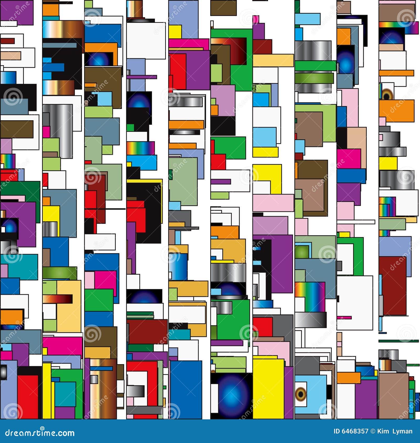 Caixas abstratas