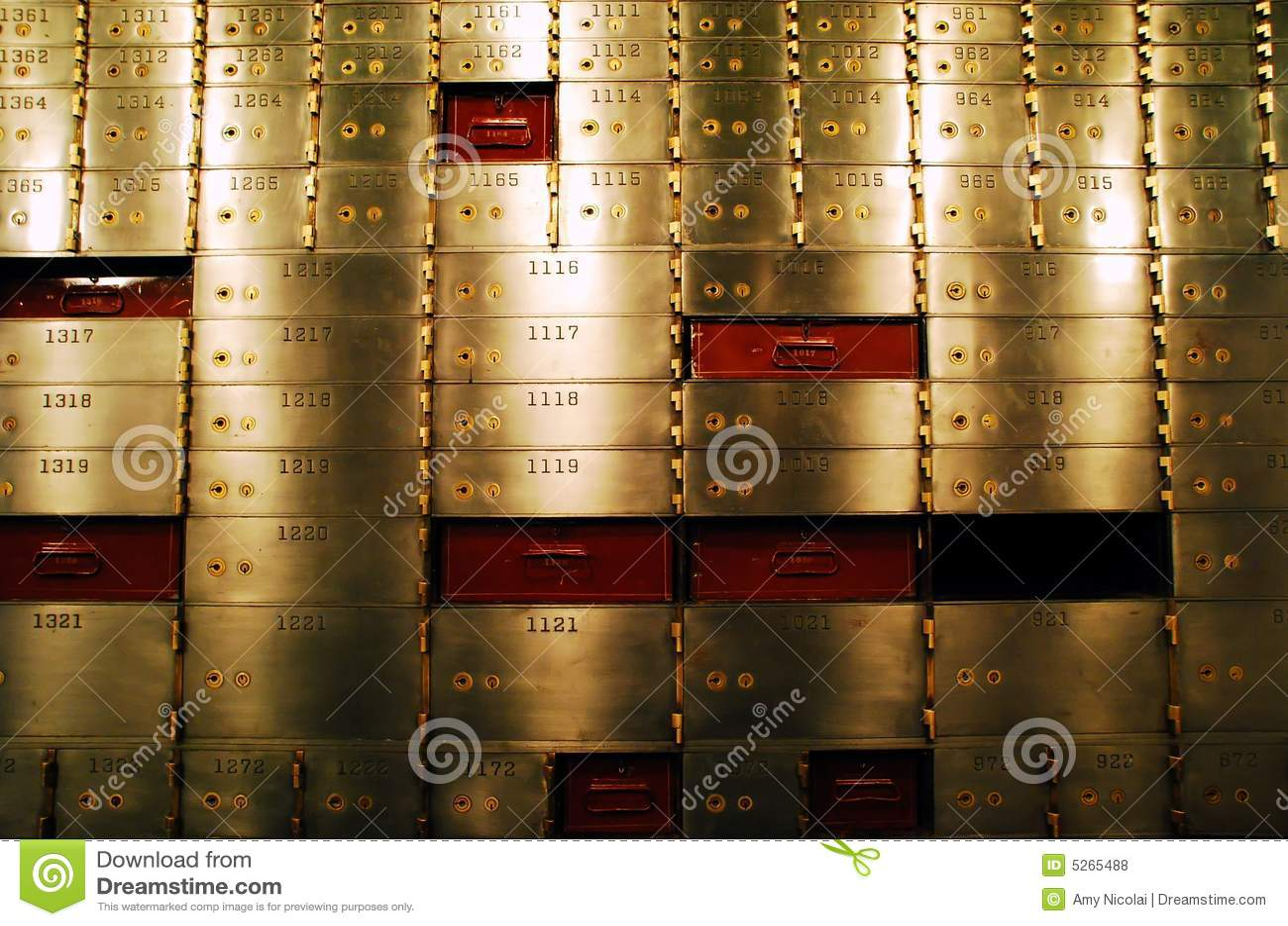 Caixas de depósito seguro