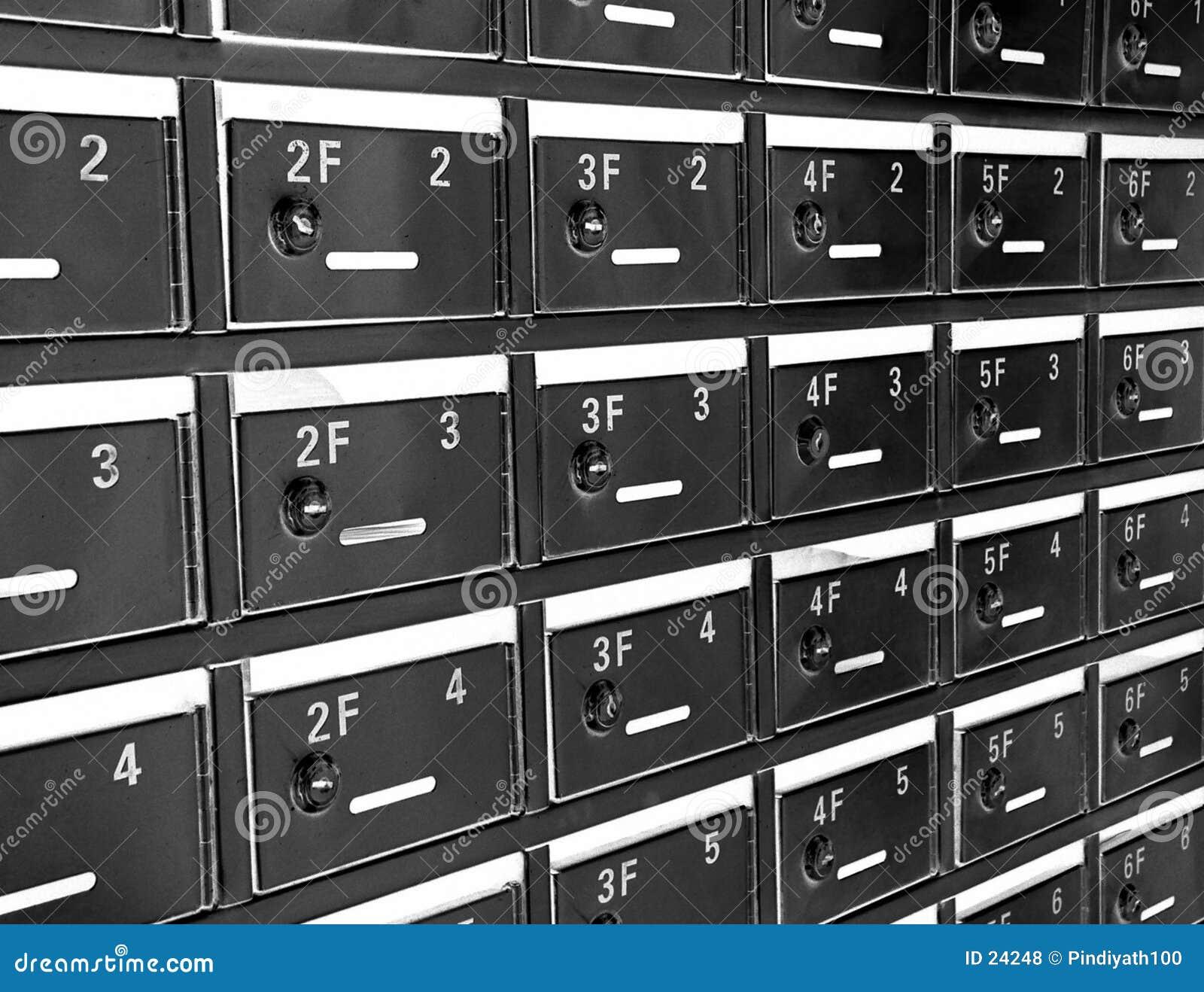 Caixas de letra
