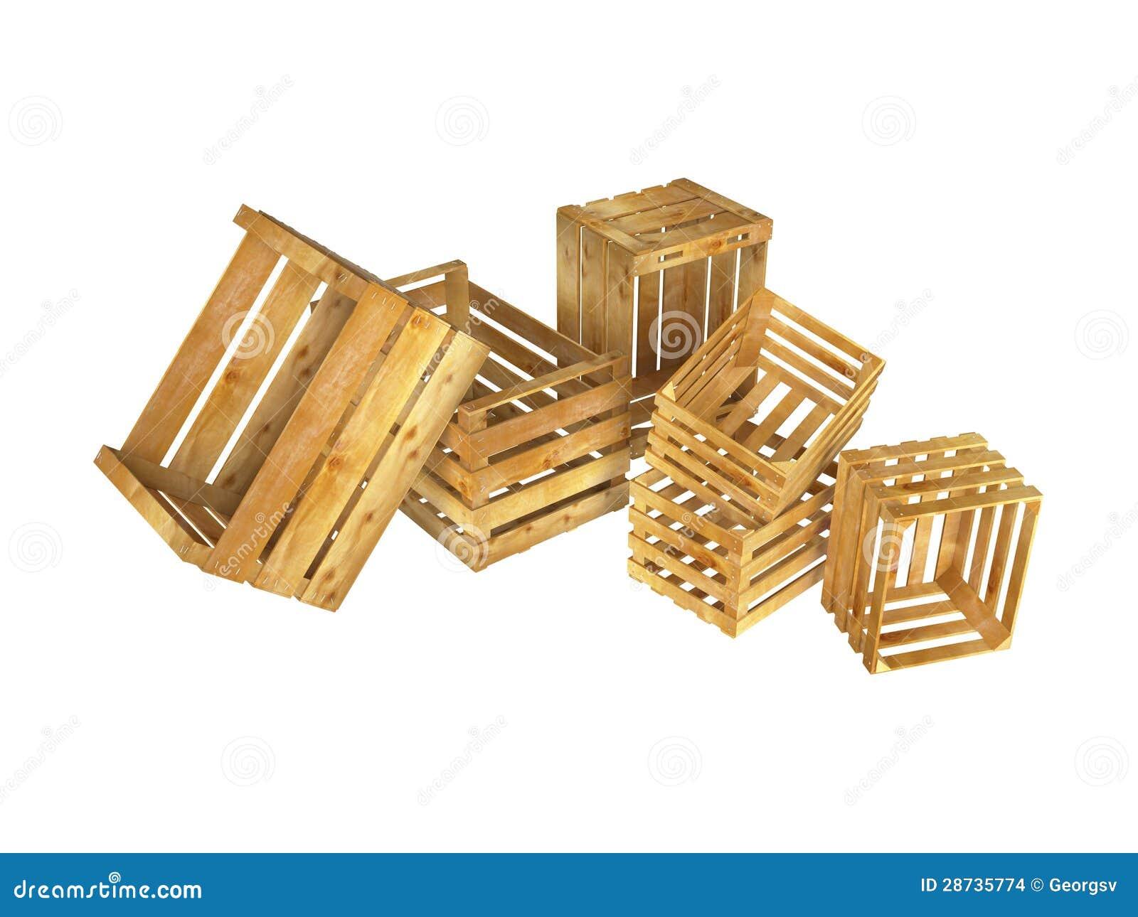 Caixas De Madeira Imagens de Stock Imagem: 28735774 #A98722 1300x1065