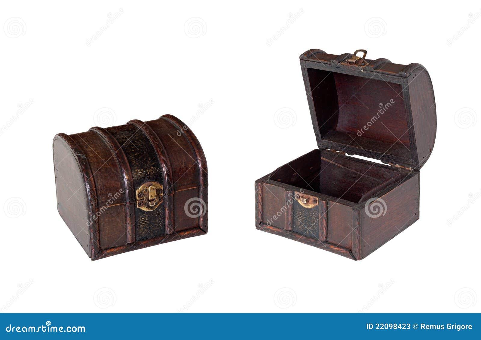 Caixas De Madeira Velhas Isoladas Fotos de Stock Imagem: 22098423 #82A328 1300x937