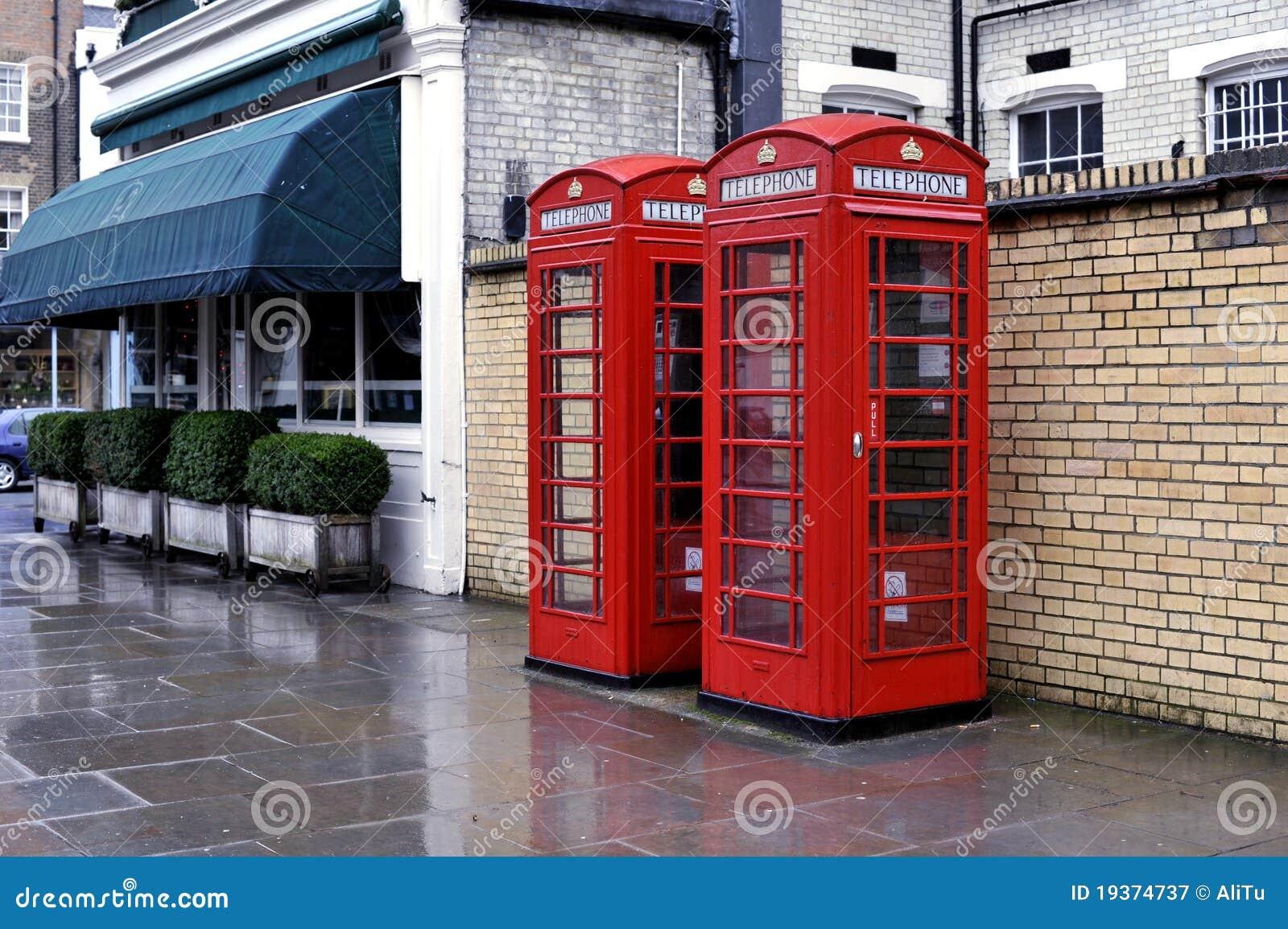 Caixas de telefone, Londres