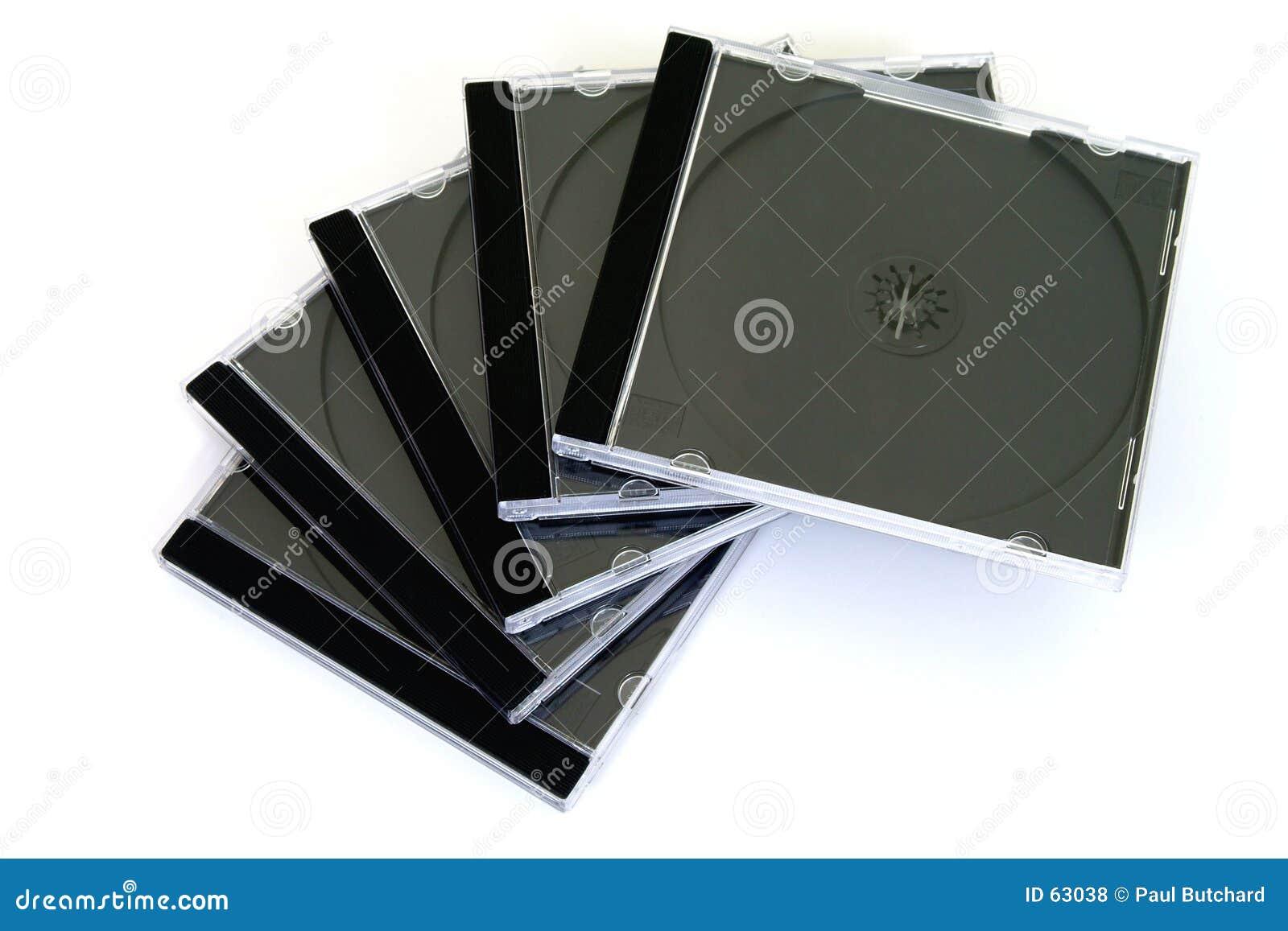 Caixas do disco compacto