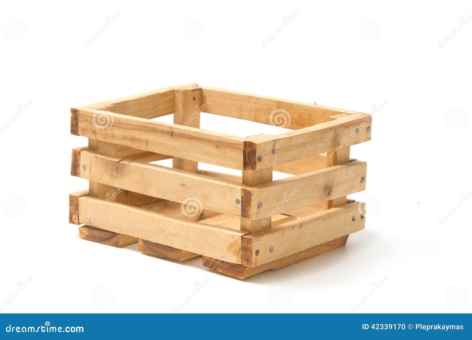 Caj n de madera vac o de la fruta foto de archivo imagen - Cajones de fruta de madera ...