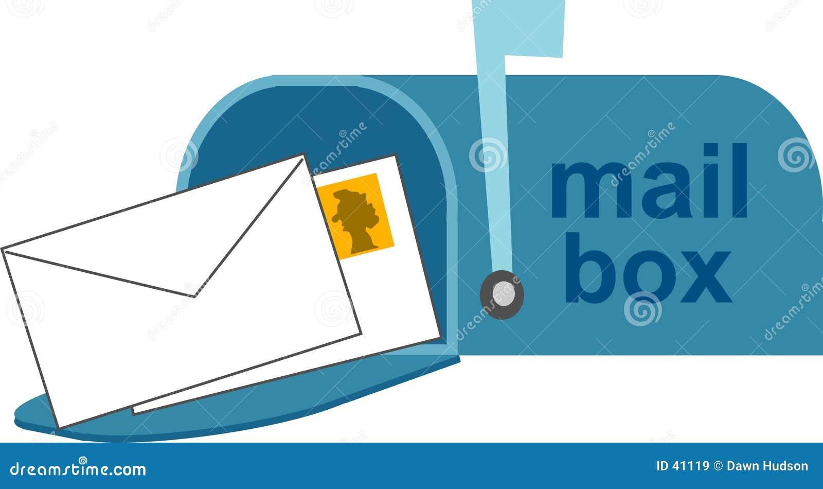 Download Caja ilustración del vector. Ilustración de correo, mensajes - 41119