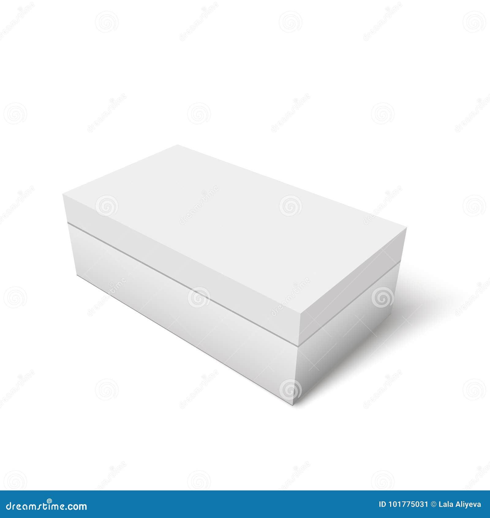 de zapato Envase blanca el para cartón papel del para Caja de la plantilla producto R0wzzq