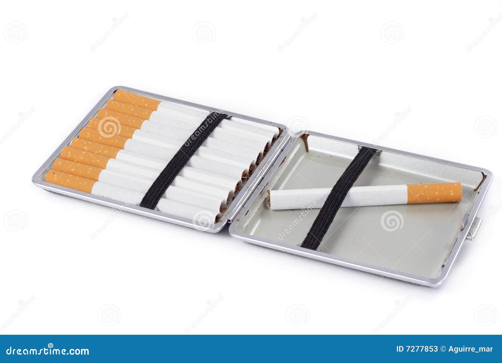 Caja de cigarrillo