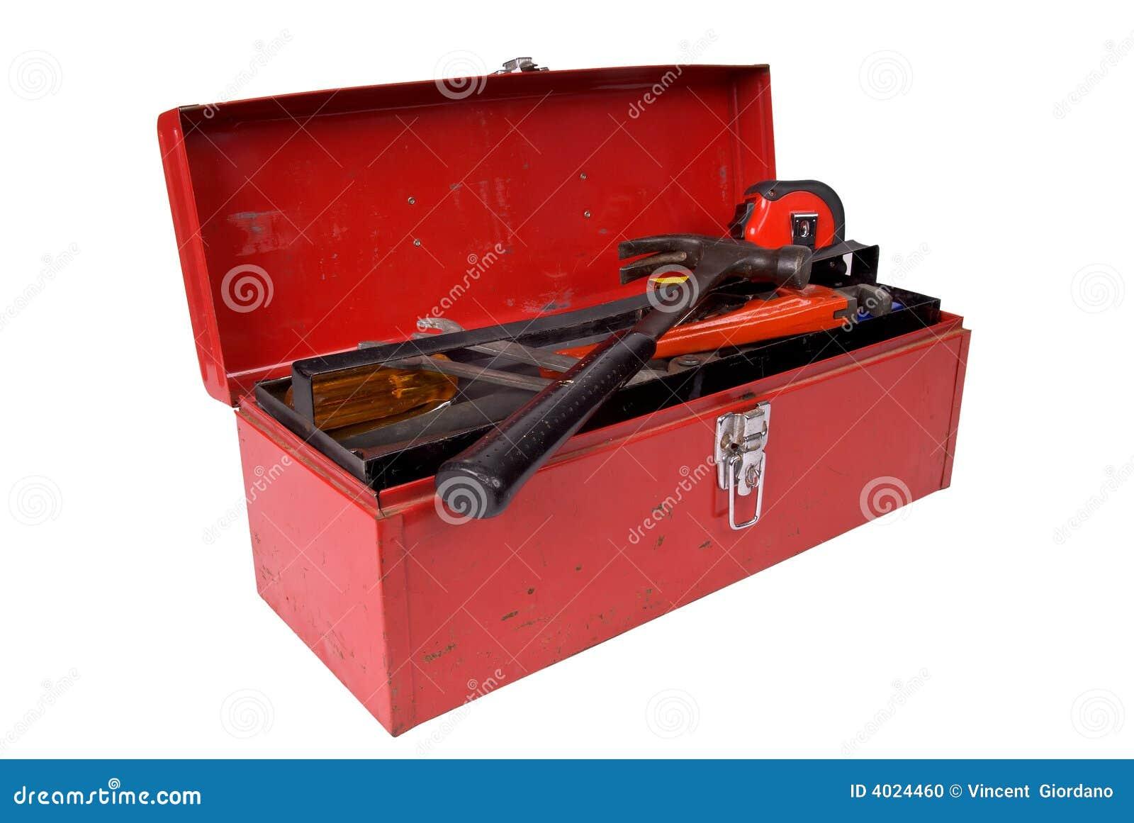 Caja de herramientas abierta foto de archivo imagen 4024460 - Caja con herramientas ...