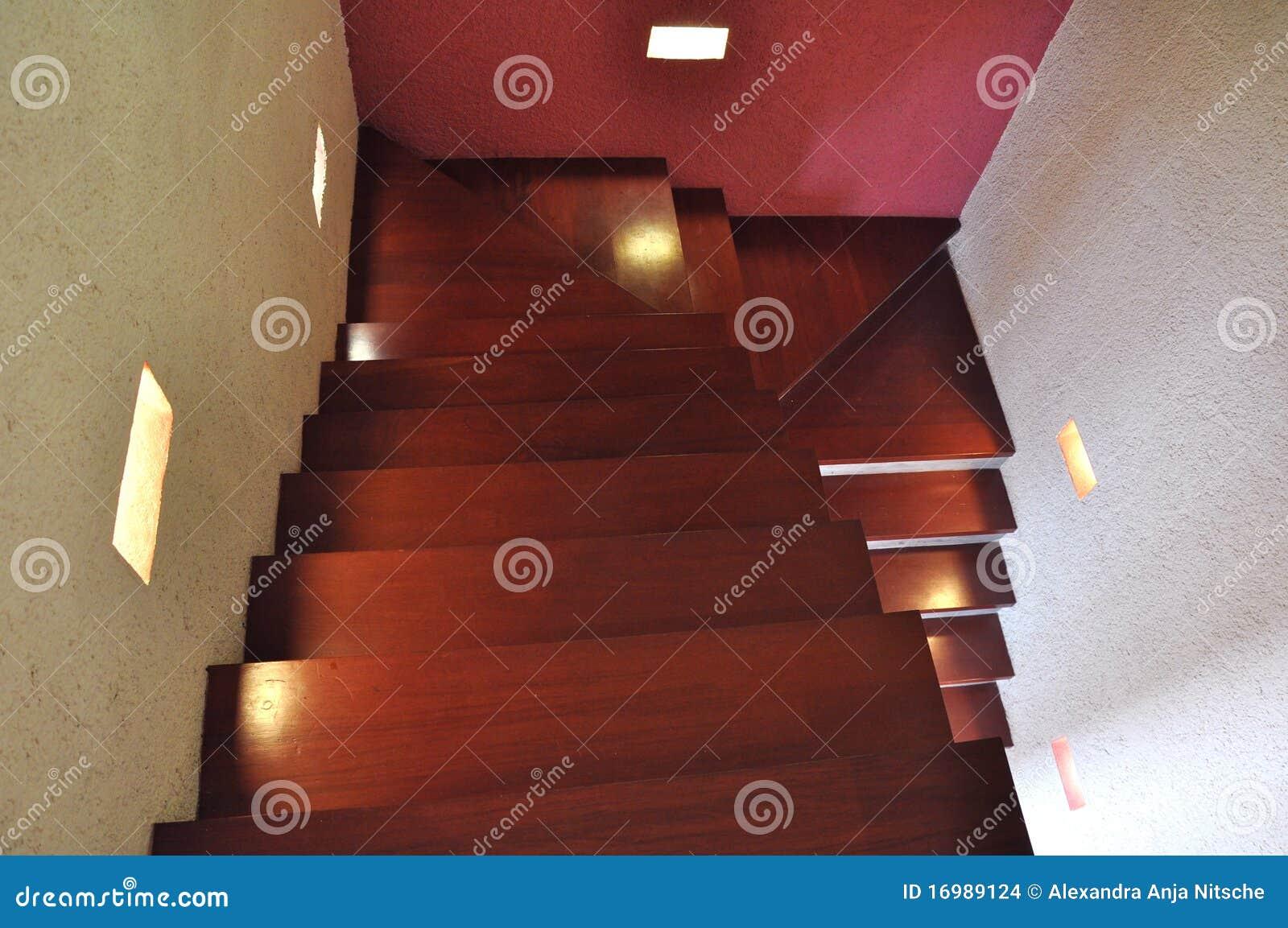 Caja de la escalera del dise o interior foto de archivo - Escaleras diseno interior ...