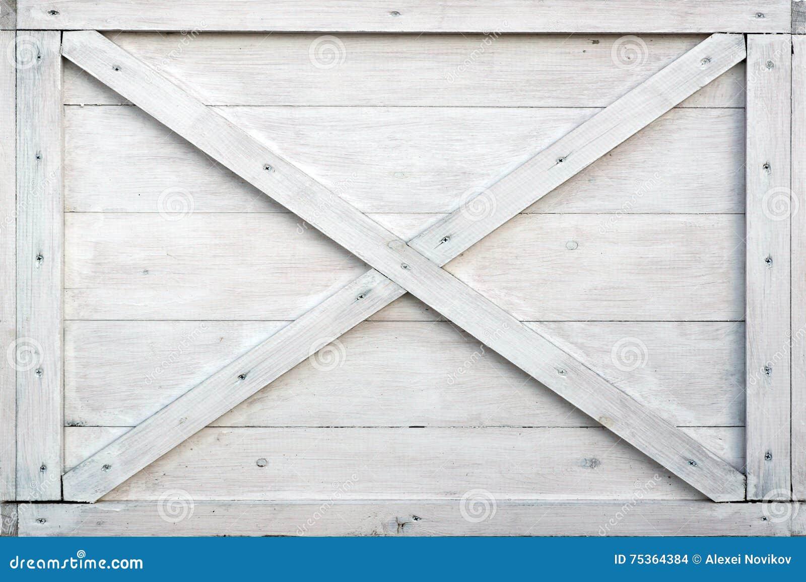 Caja de madera blanca moderna front side background foto for Cajas de madera blancas