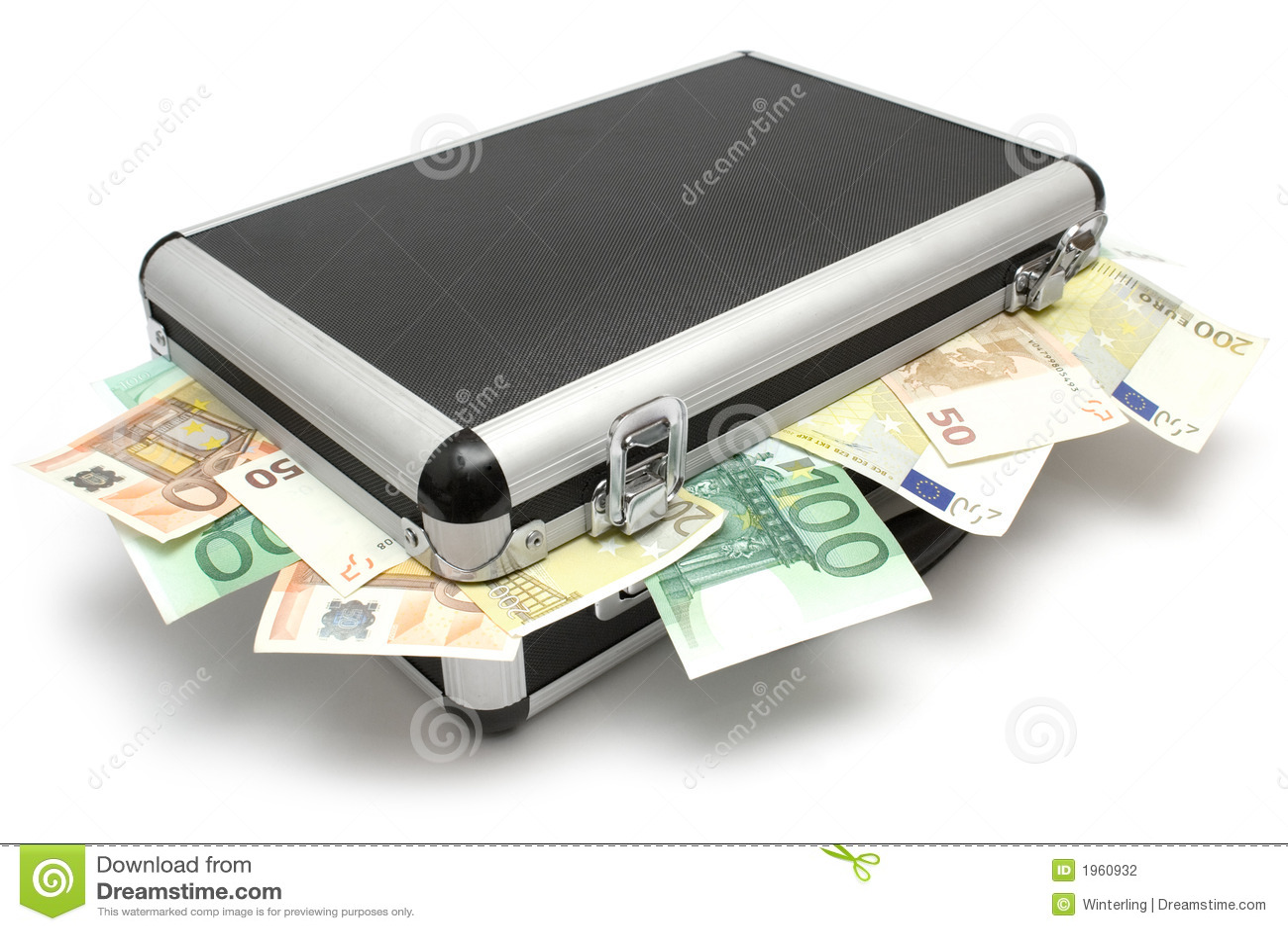 Caja de mentira del dinero