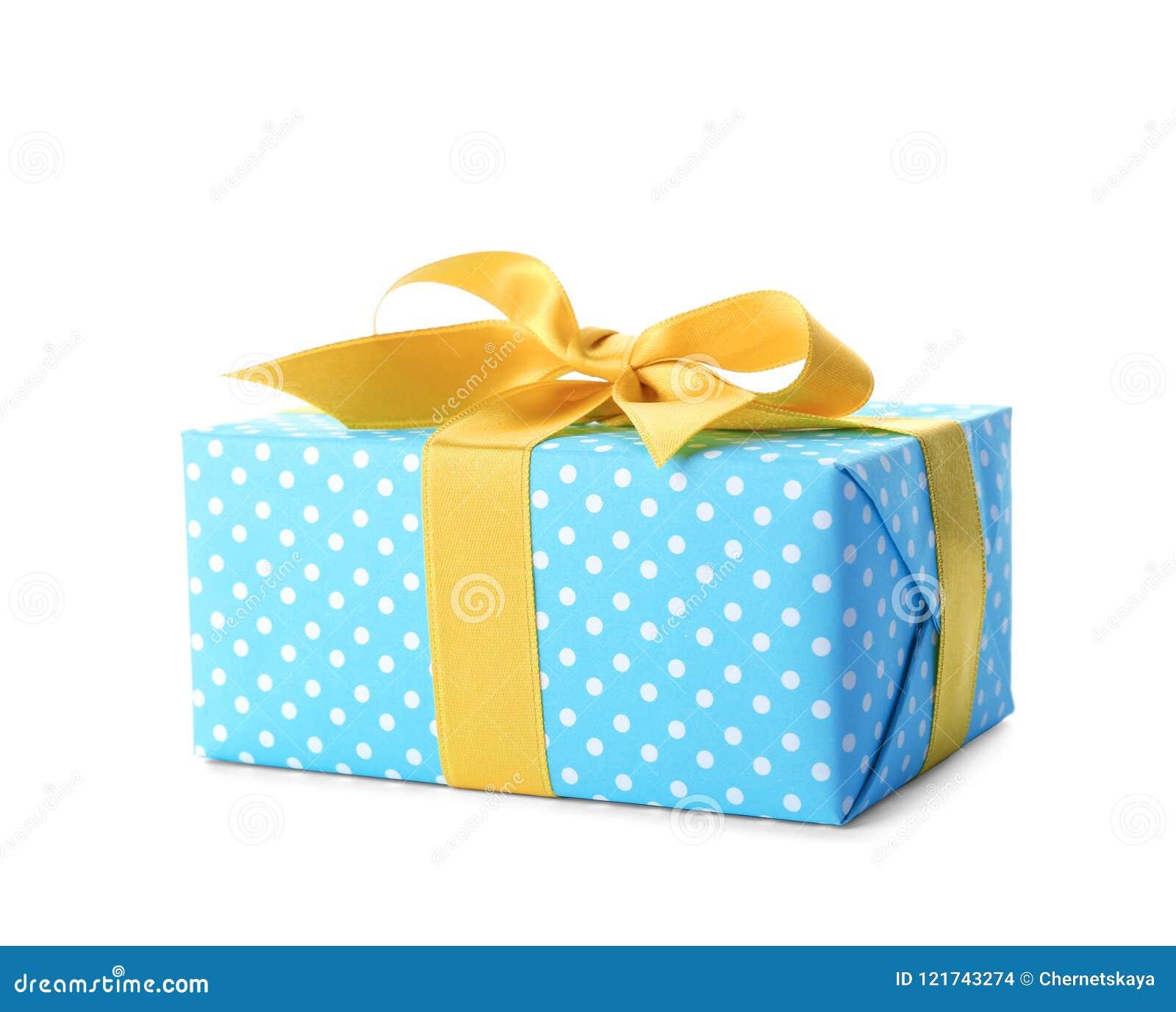 Caja de regalo con la cinta