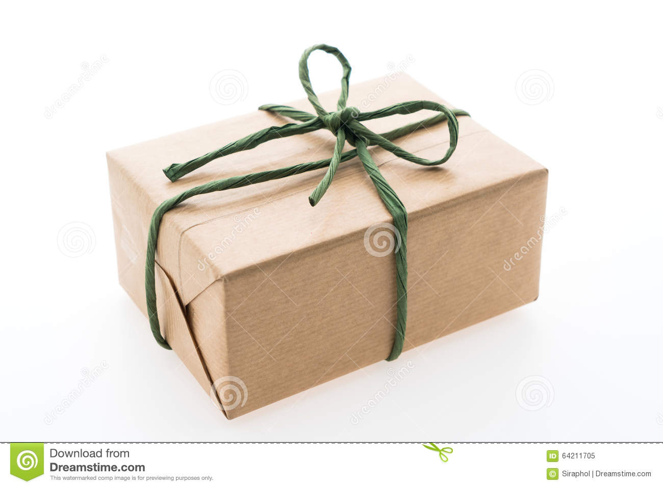 Caja de regalo de Brown