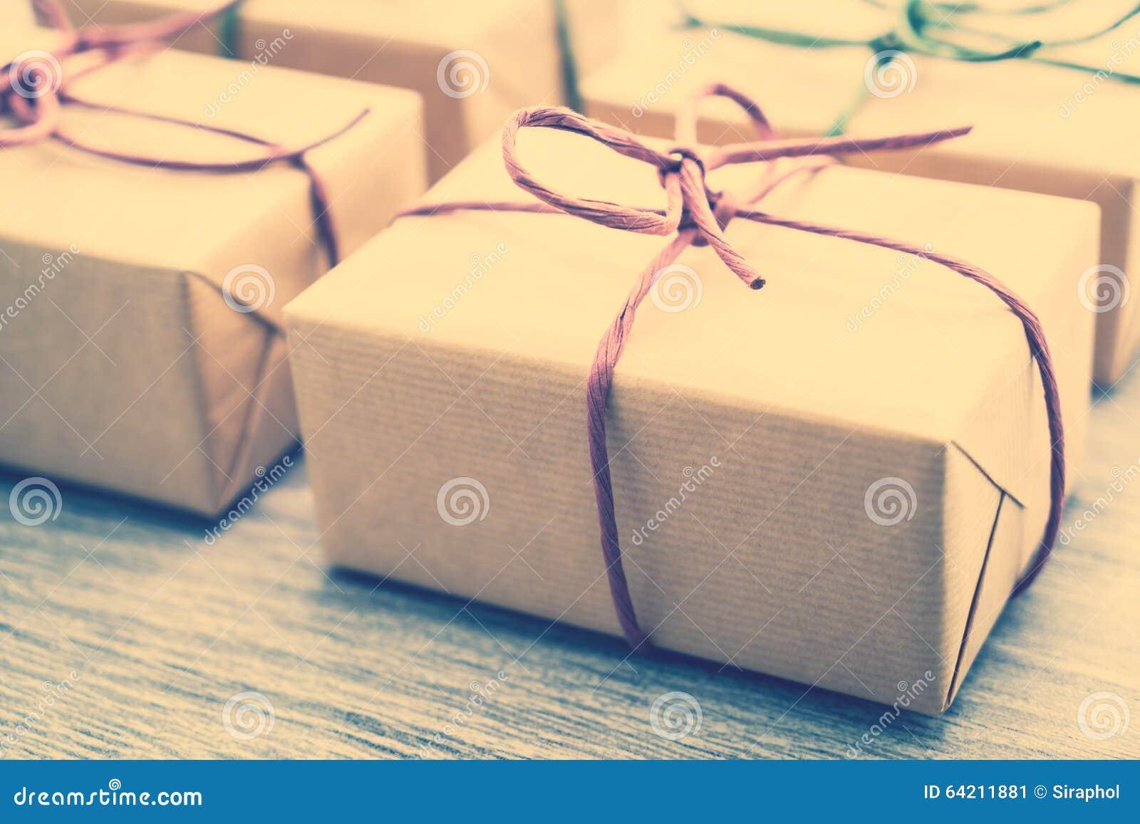 Caja de regalo de Brown
