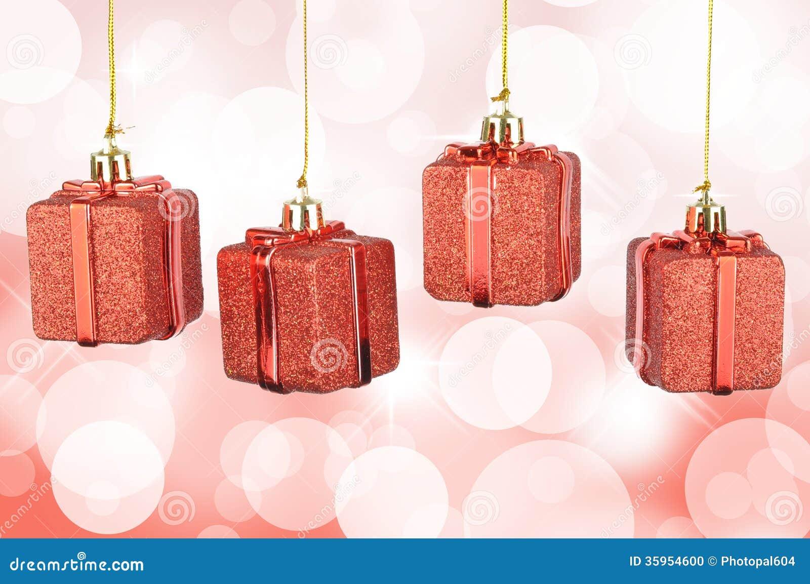 Caja de regalo de la Navidad