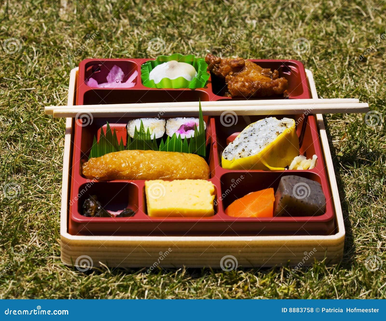 Caja del almuerzo japonesa