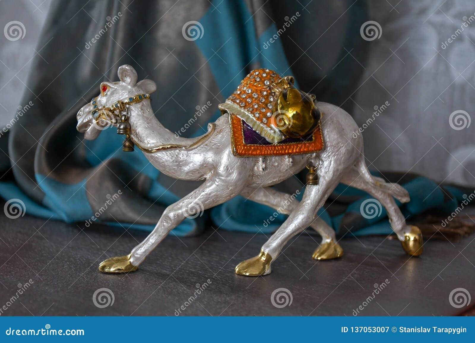 Caja del camello del egypet