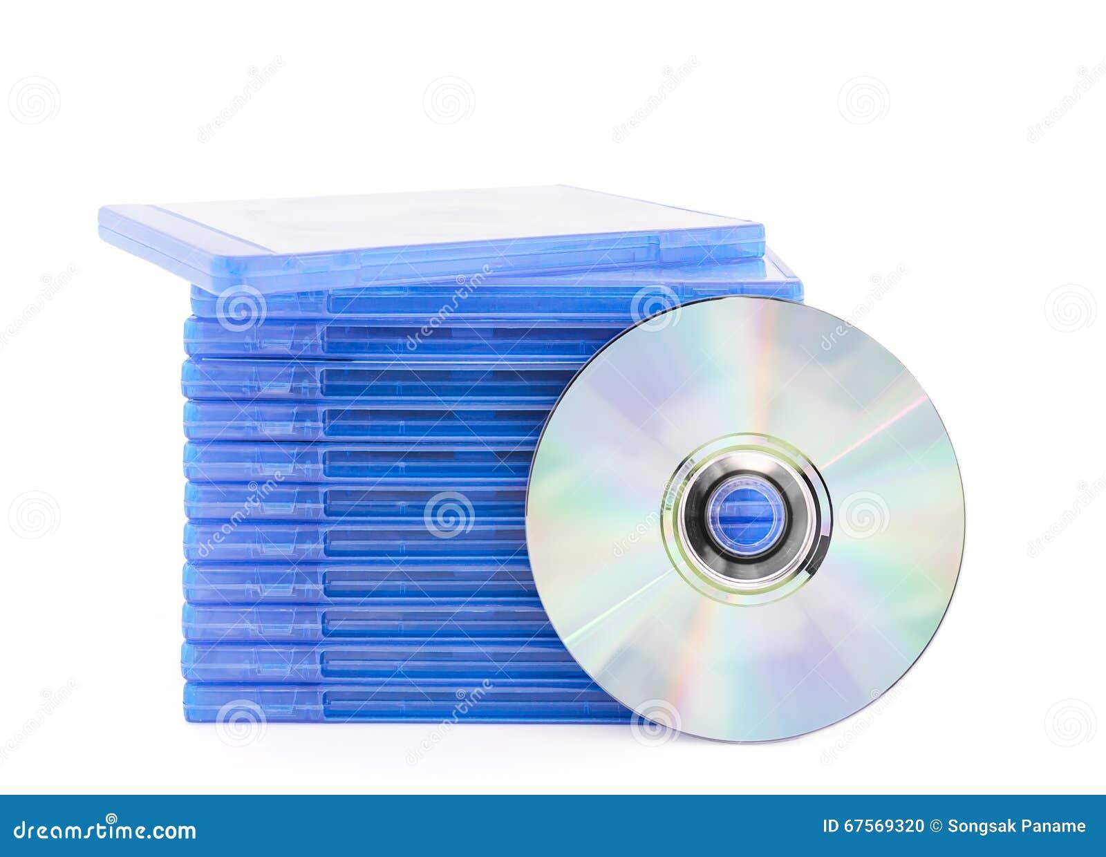 Caja del DVD con el disco