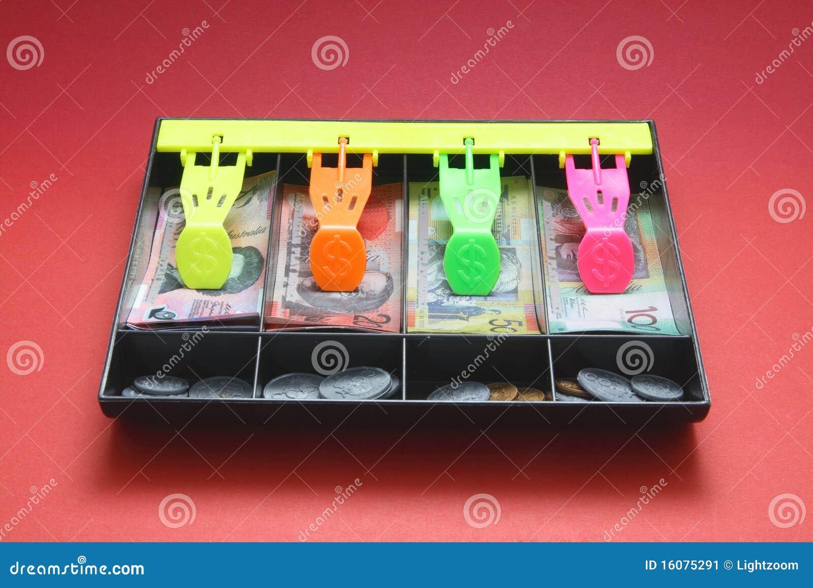 Caja registradora del juguete imagen de archivo imagen - Caja registradora juguete ...