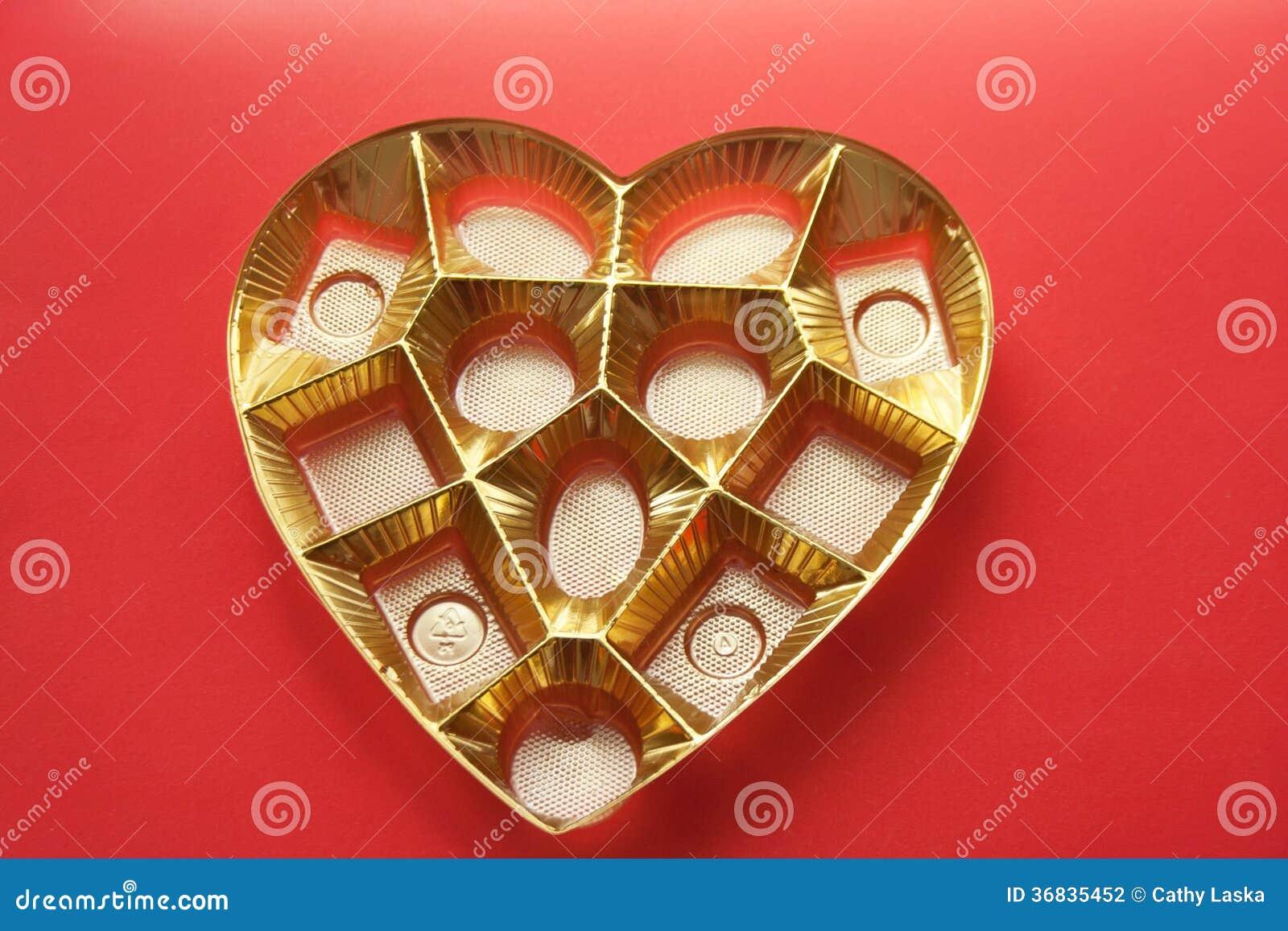 Caja y lata del corazón