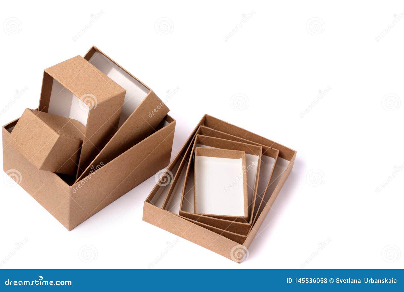 4 cajas de regalo para los regalos