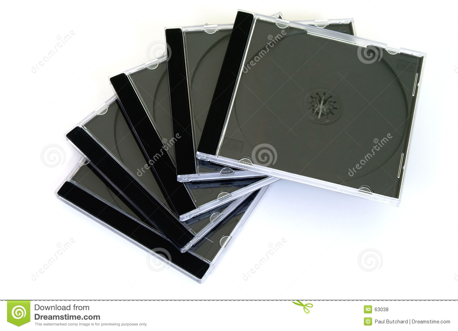 Cajas del disco compacto