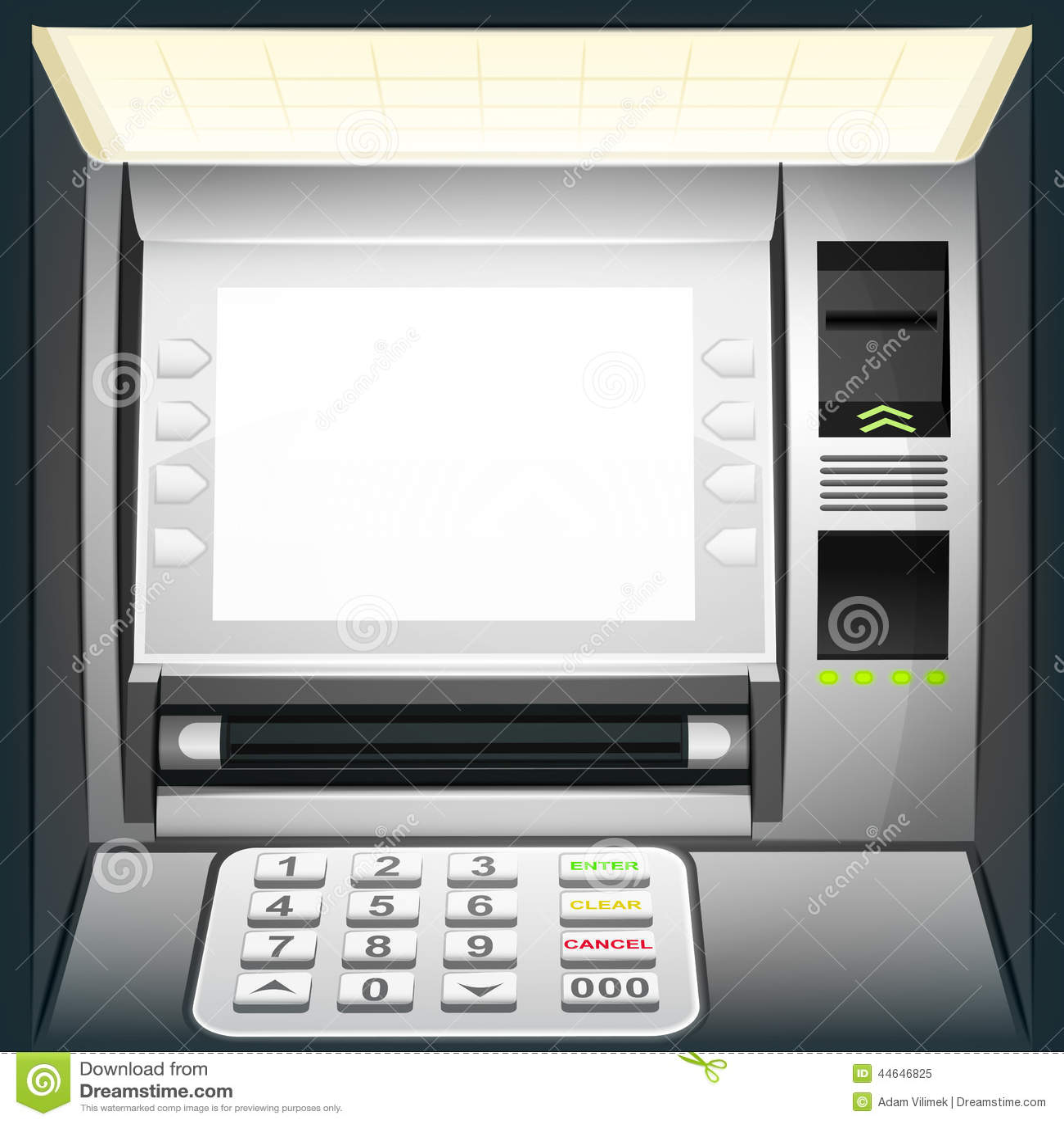 fondo Cajero automático