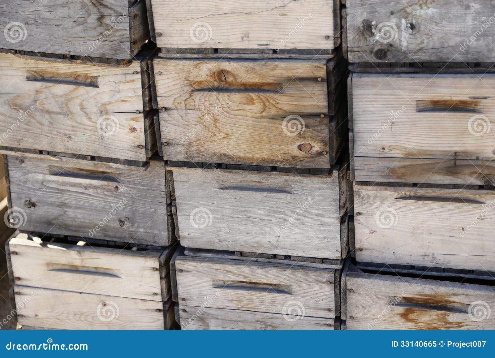 Cajones antiguos de la caja de madera foto de archivo - Cajones de madera antiguos ...