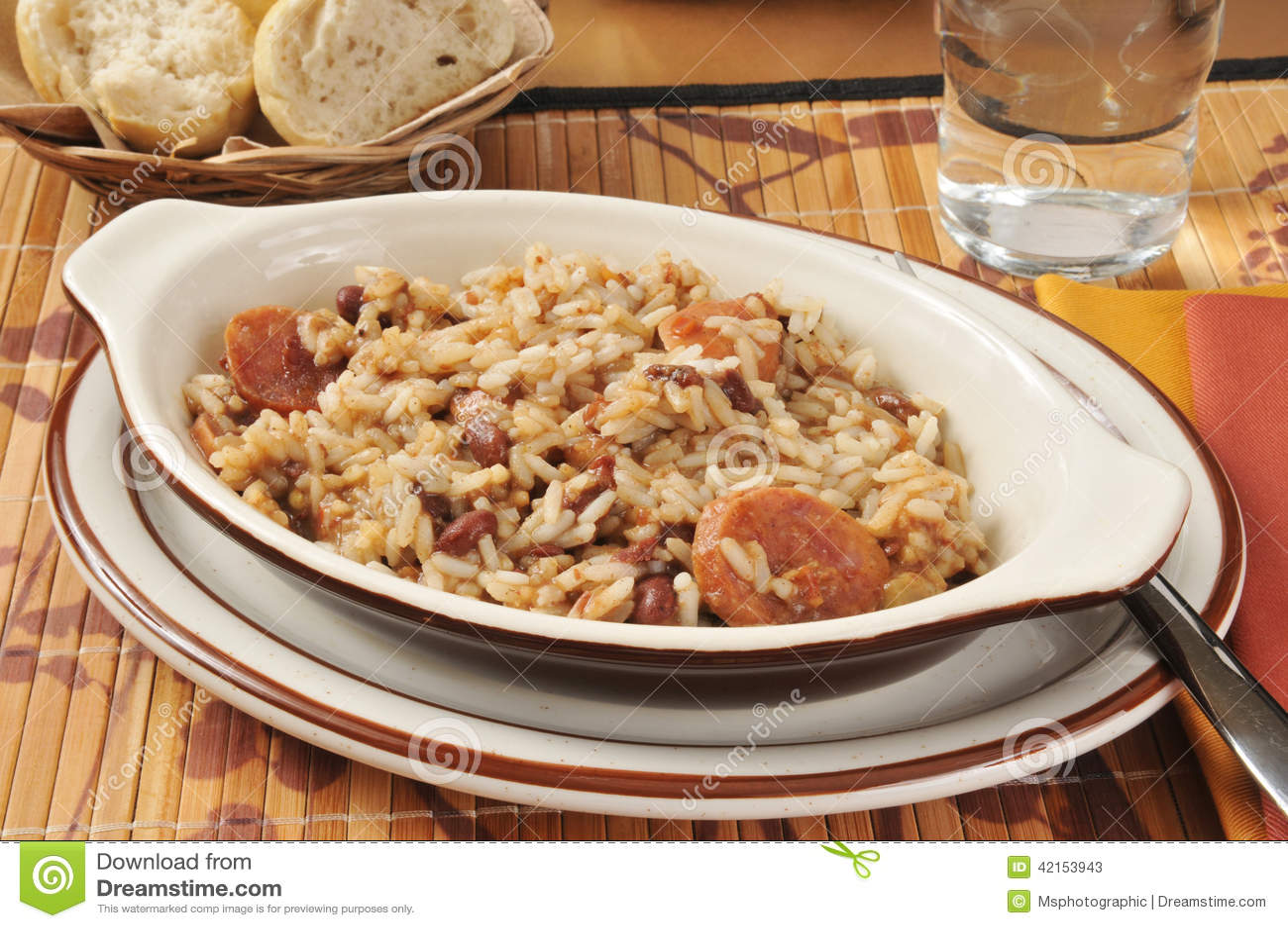korv med ris