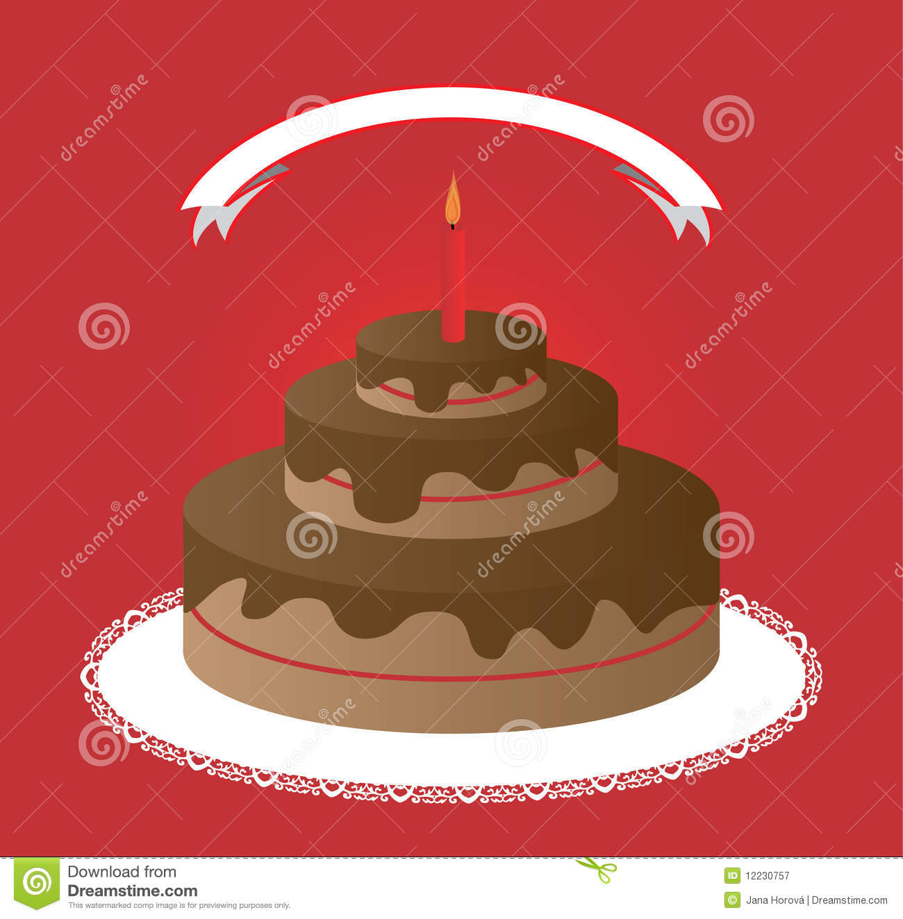 Cake Royalty Free Stock Photography - Image: 12230757