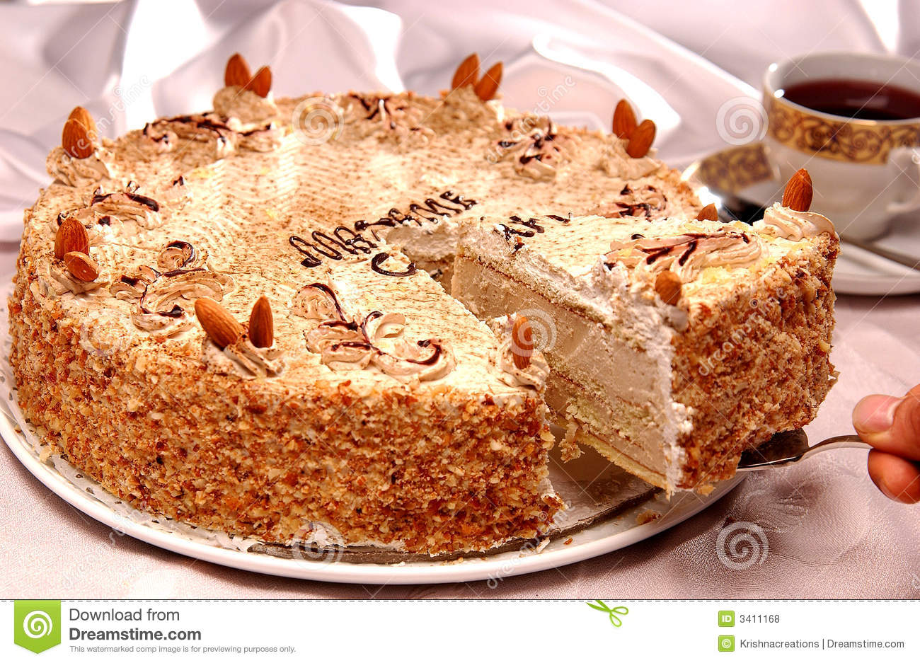 Cake and arabic food stock photo  Image of gift, ceremony