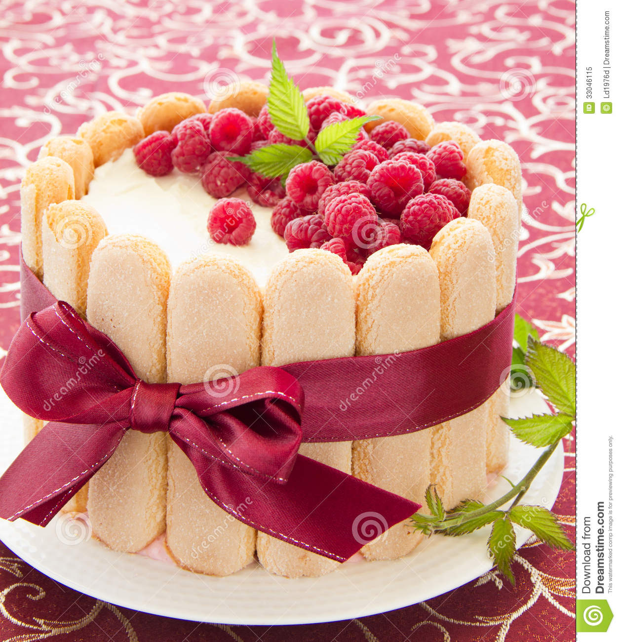 Cake Charlotte Royalty Free Stock Photo Image 33046115