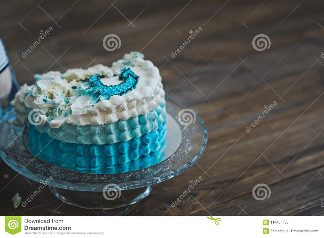 Super Birthday Cake On The Marine Theme 5601 Stock Image Image Of Funny Birthday Cards Online Alyptdamsfinfo
