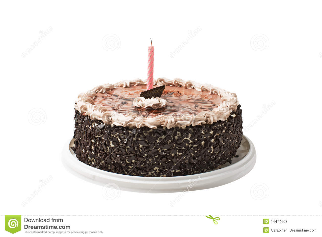Chocolate Cake Images With Candles : Cake Chocolate And Candle Royalty Free Stock Photos ...