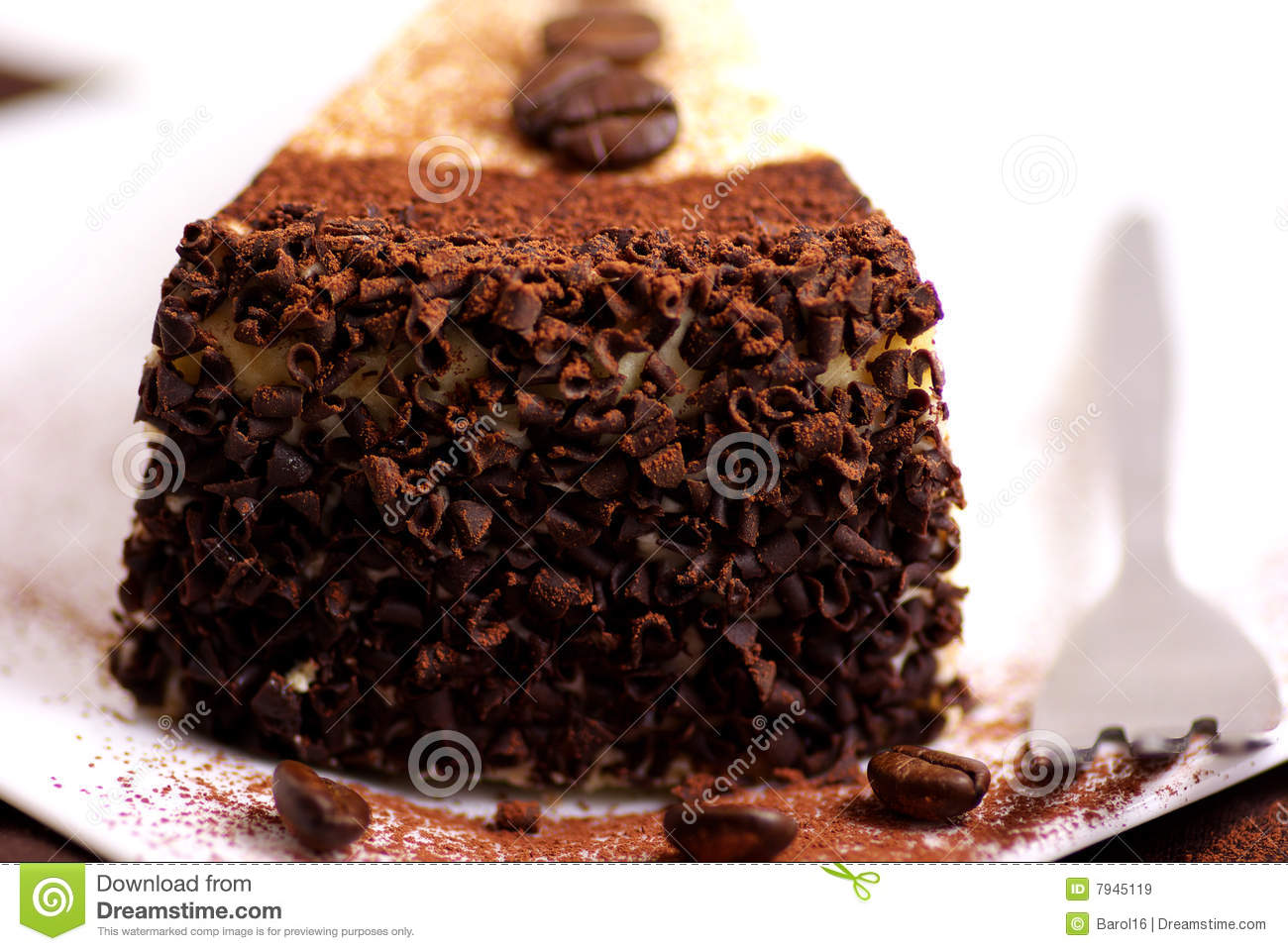 Cake With Coffee Beans Royalty Free Stock Images - Image ...