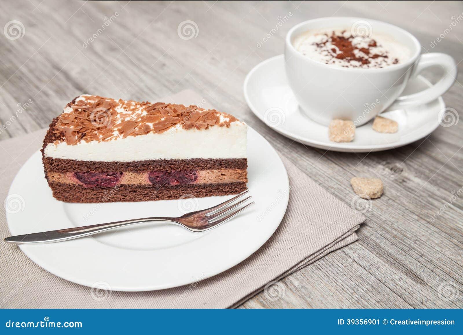 Cake And Coffee Stock Photo Image 39356901