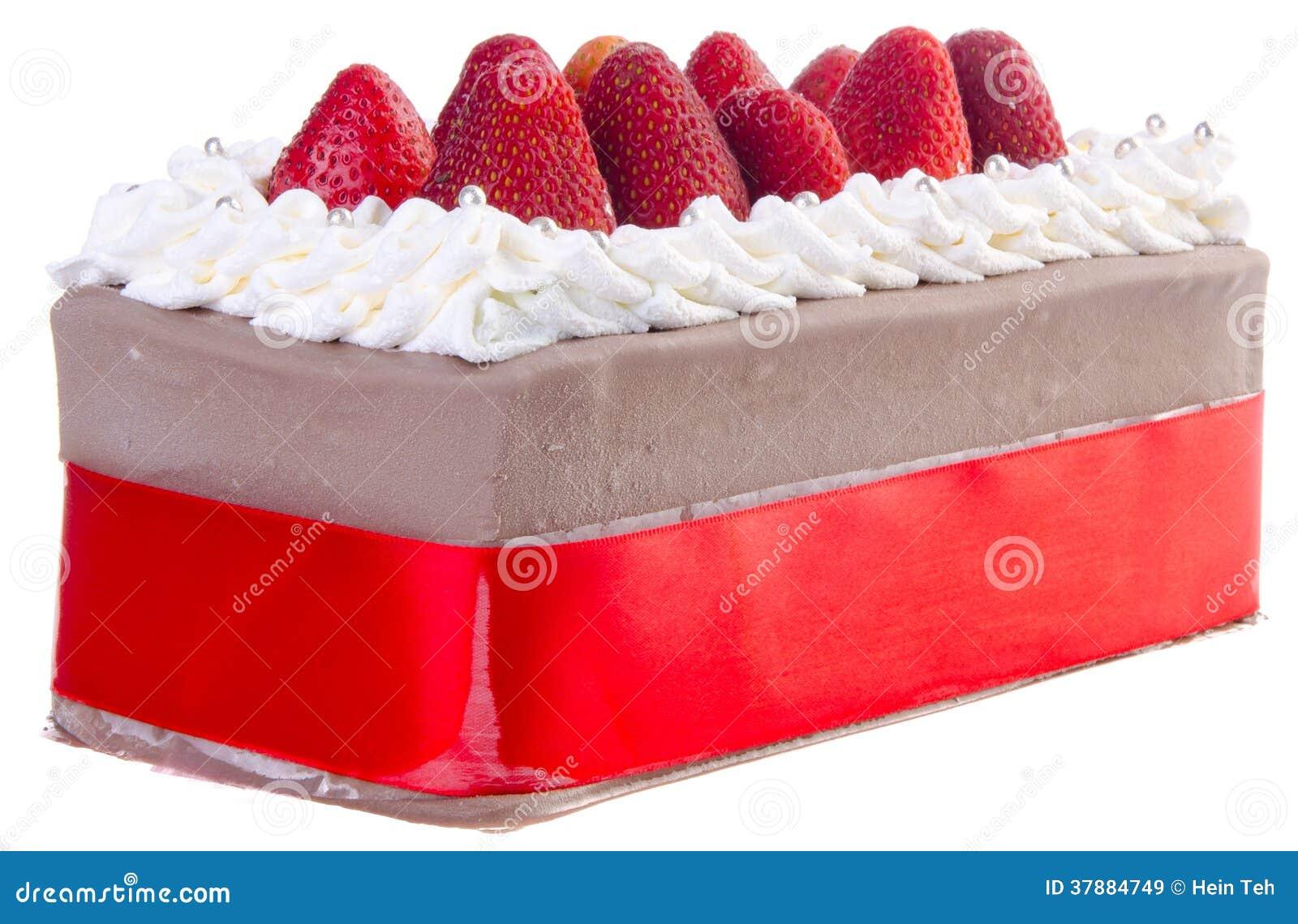 Cake, de cake van het Roomijs op achtergrond