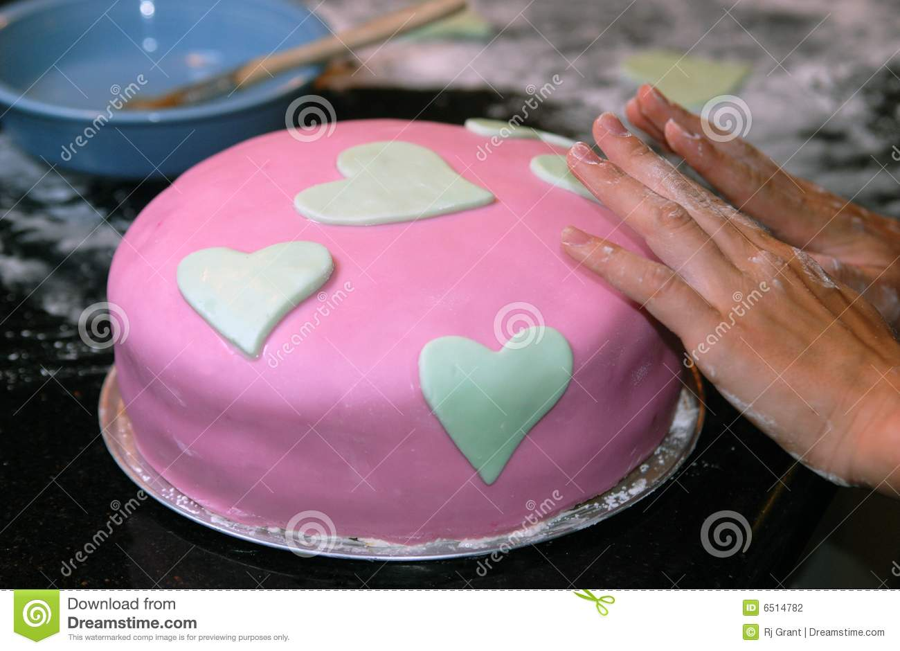 Cake Decorating Stock Photography - Image: 6514782