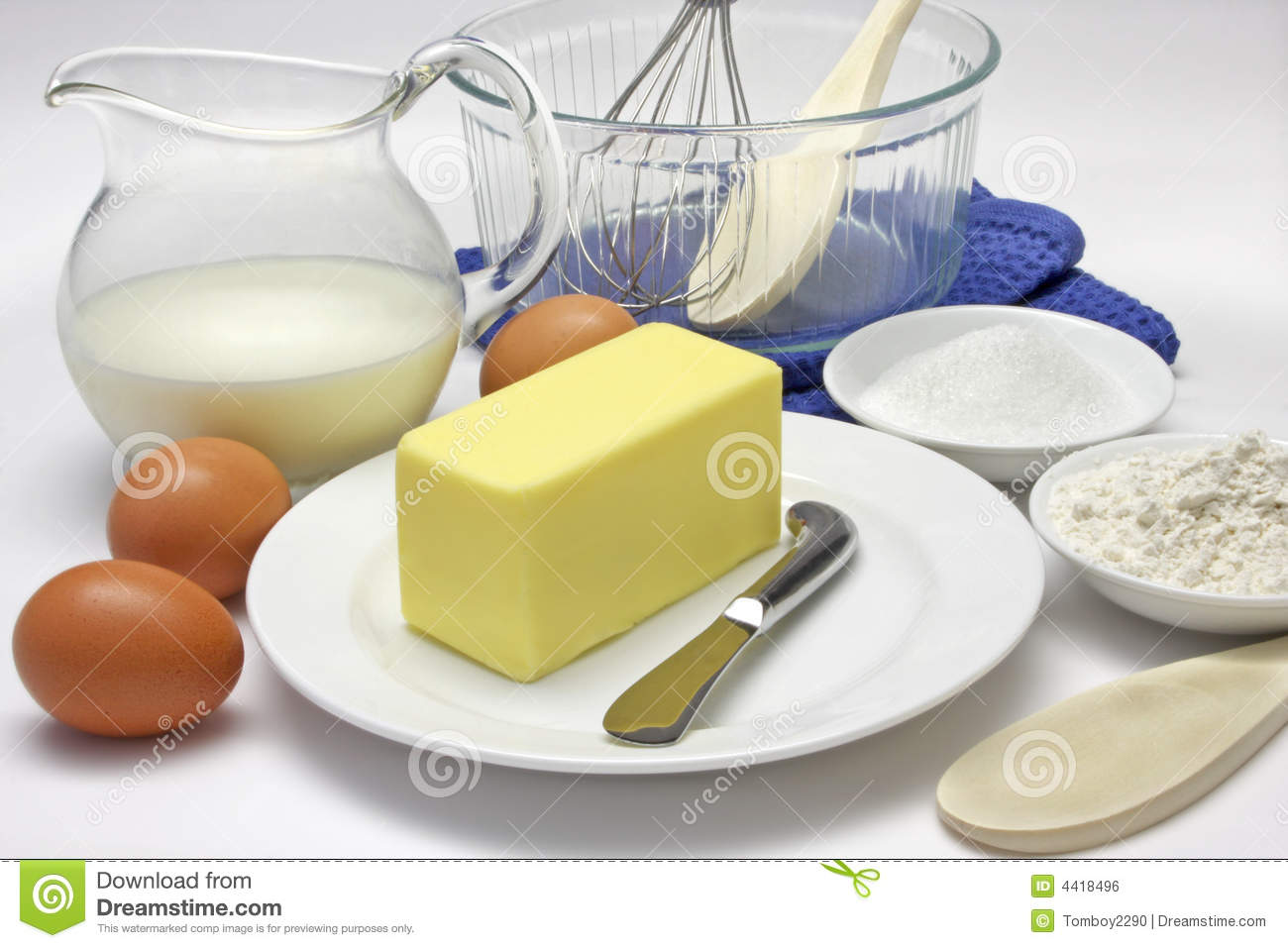 Cake ingredients royalty free stock image image 4418496 for What are the ingredients to make a cake