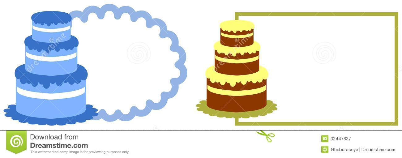 Cake Label Stock Illustration Illustration Of Candle
