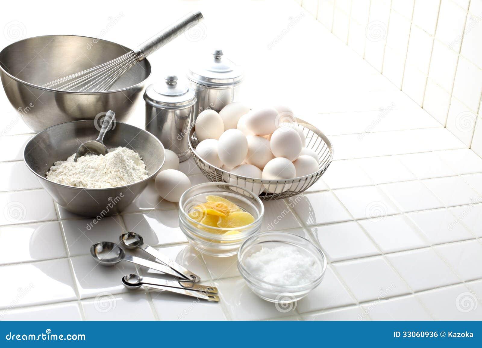 preparation a gateau