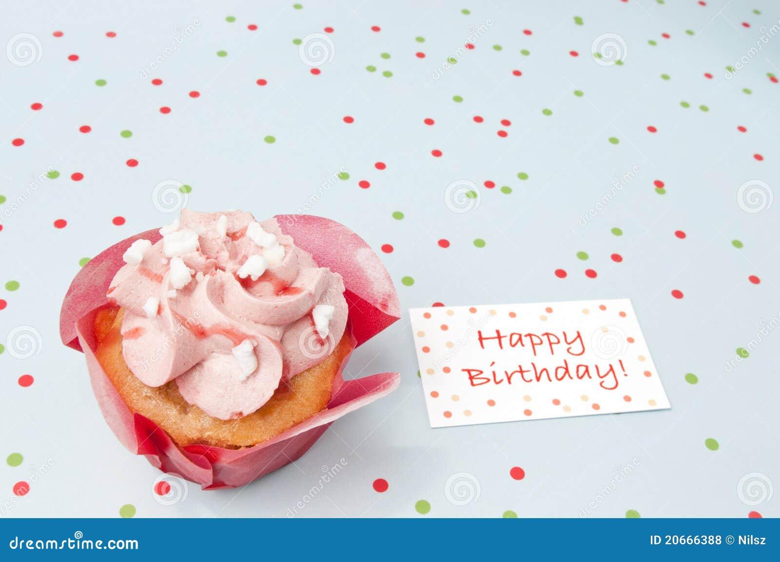 Cake Met Verjaardagswensen Stock Foto Afbeelding Bestaande Uit