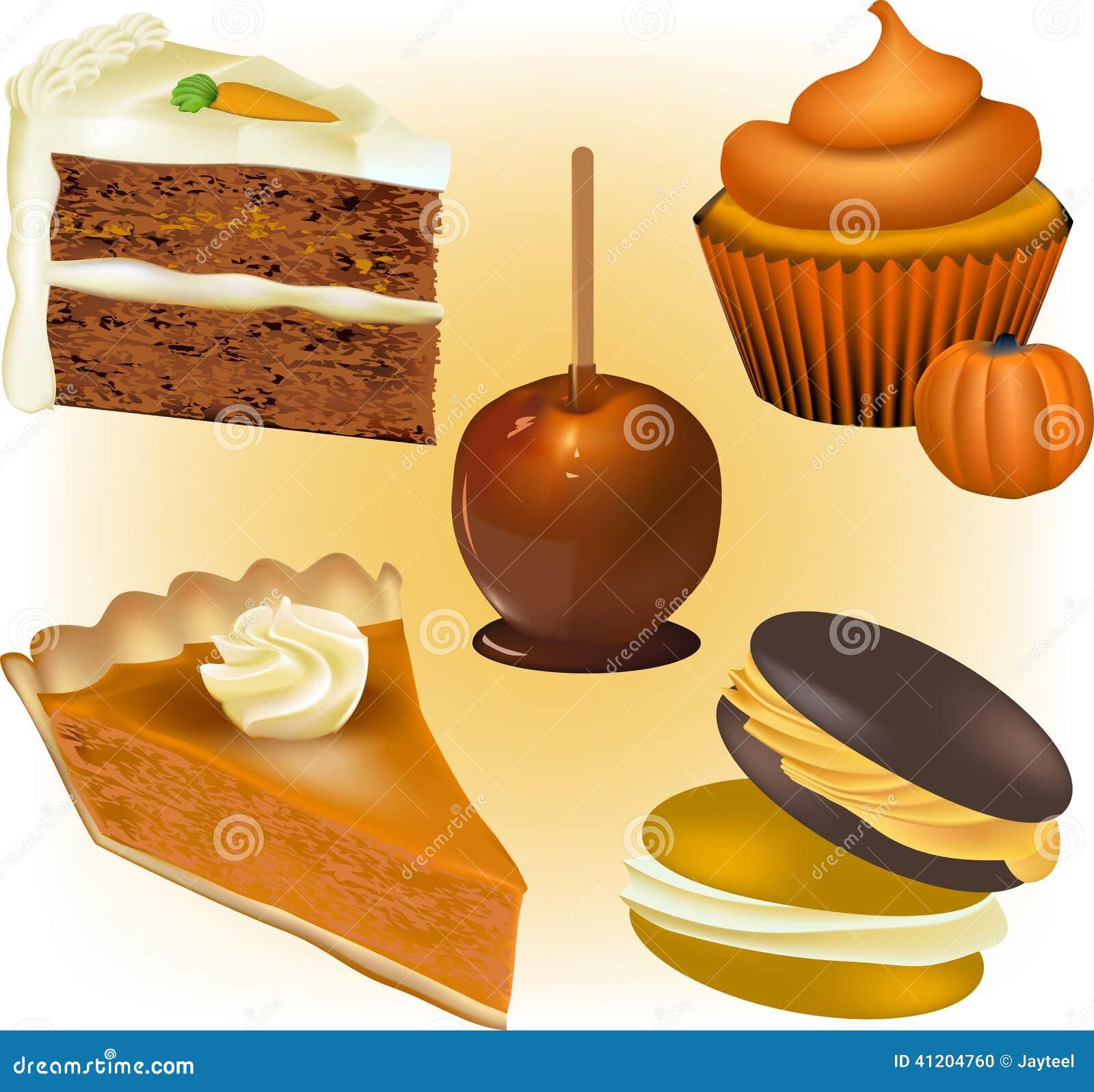 Apple And Orange Layer Cake