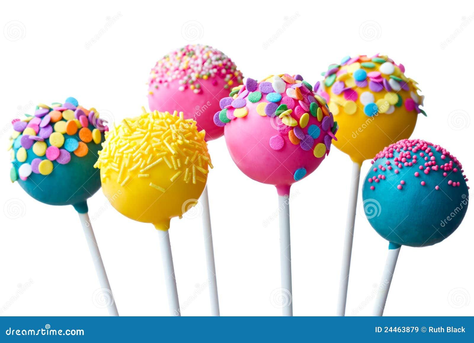 Cake Pops Stock Image Image Of Cake Dessert Baked