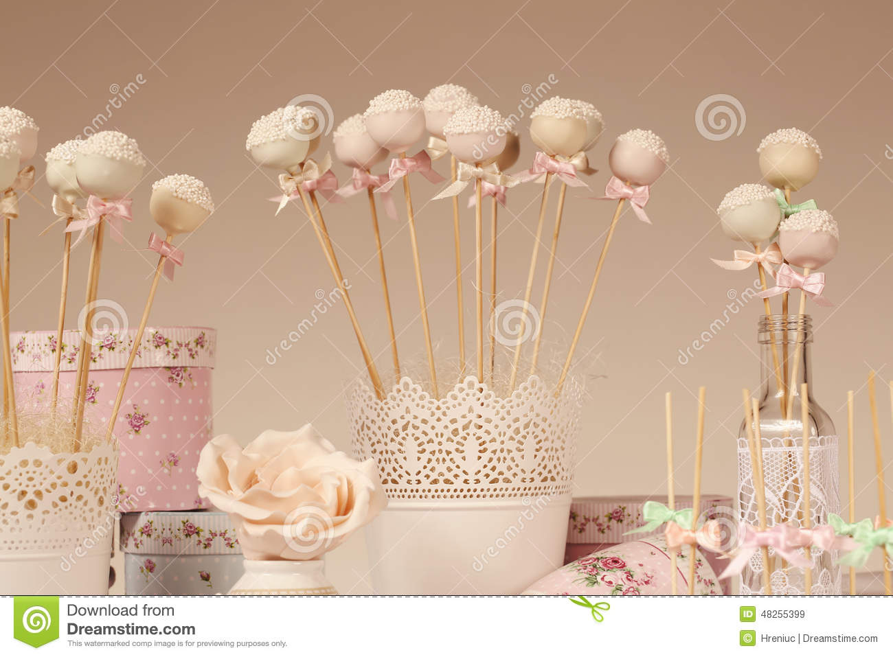 Cake Pops Stock Image Image Of Fruit Chocolate