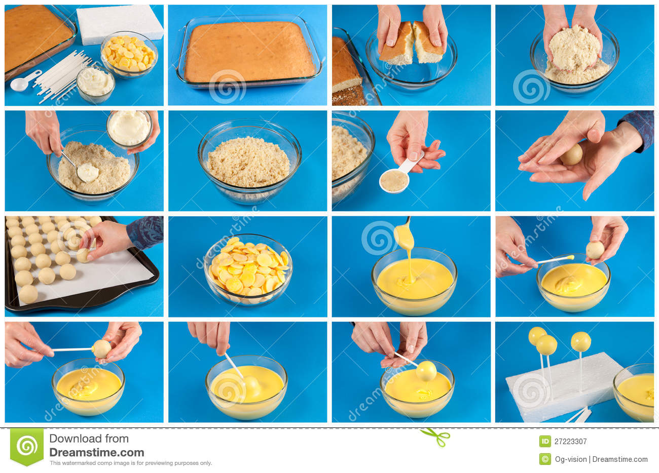 Childrens Instructions How To Make A Cake